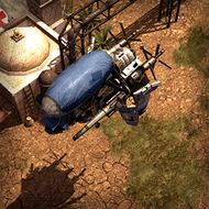 WAR Dirigible 3DPortrait Nomad