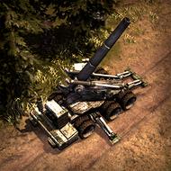 REP Howitzer 3DPortrait Ardennen