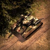 UNI FlakTank 3DPortrait EasternFront
