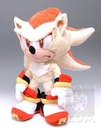 Sonic Super Shadow Plush Stand by hatsukoi