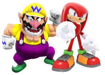 File:Wario and Knuckles.png