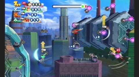 Mario & Sonic at the London 2012 Olympic Games Dream Uneven Bars