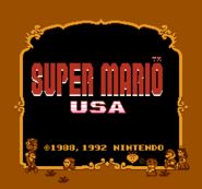 Title Screen (Super Mario USA)