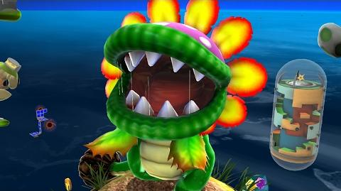 Super Mario Galaxy Dino Piranha Boss Fight (4K 60fps)