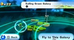 Rolling Green Galaxy