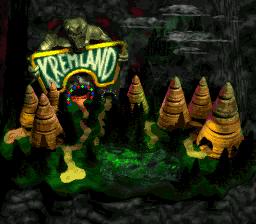 Krazy Kremland Exterior (Donkey Kong Country 2)