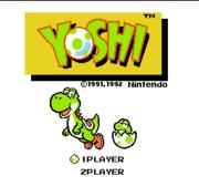Yoshi (U)