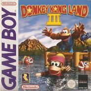 Donkey Kong Land III - European Cover
