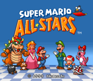 Super Mario All-Stars - Title Screen