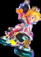 Princess peach biker