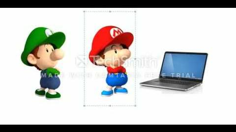 Baby Mario and Baby Luigi Doesn't Like This It's Time to Stop Video!