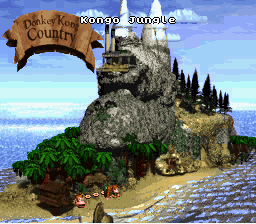 Kongo Jungle - Overworld - Donkey Kong Country