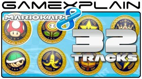 Mario Kart 8 All 32 Tracks! (Full Race)