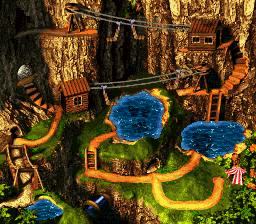 Razor Ridge Overworld - Donkey Kong Country 3