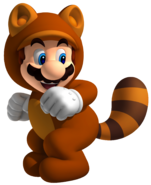 Tanooki Mario Artwork - Super Mario 3D Land