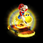 Bulb Yoshi Artwork - Super Mario Galaxy 2