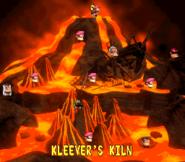 Kleever's Kiln - Overworld - Donkey Kong Country 2