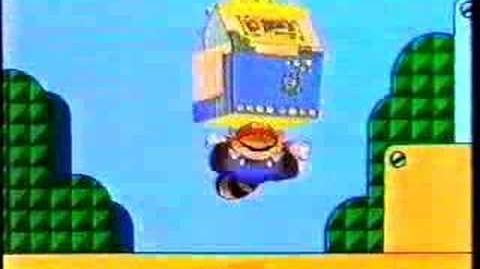 Mcdonald's Super Mario 3 Toy Ad