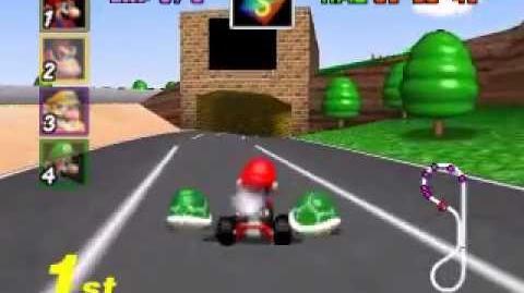 Mario Kart 64 - Mushroom Cup 50cc