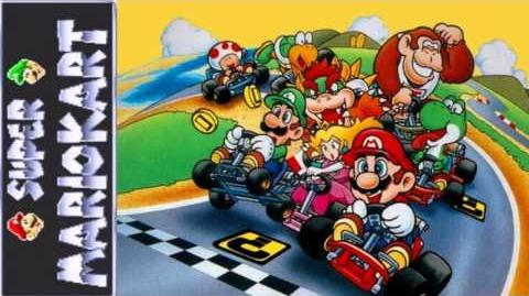 Super Mario Kart Rainbow Road-0