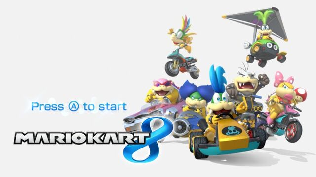File:Mario Kart 8 Title Screen (Koopalings).jpg