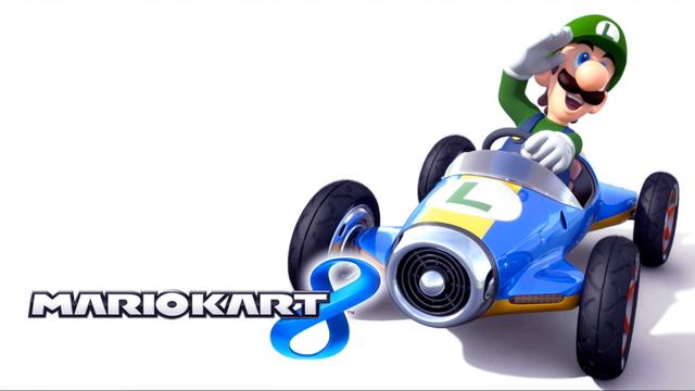 File:Mario Kart 8 Title Screen (Luigi).png