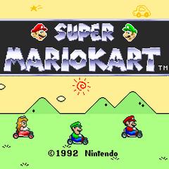 <i>Super Mario Kart</i>