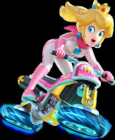 File:Peach (Mario Kart 8).png