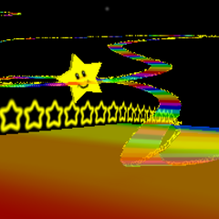 The course in <i>Mario Kart 64</i>.