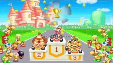Mario Kart - Super Circuit - mushroom cup 50cc HD