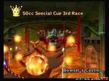 Mario Kart Wii Bowser's castle