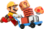 Super Mario Maker - Mario Artwork 02