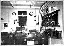 250px-1913 Marconi operator room for 5 kilowatt ocean liner station