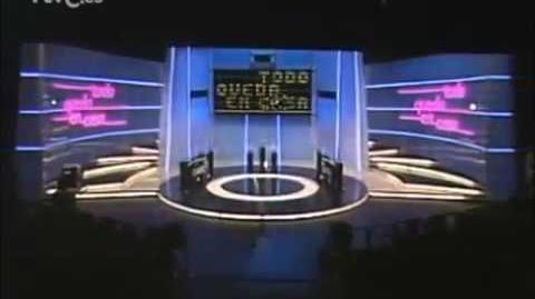 """Cabecera """"Todo queda en casa"""" (TVE 1986)"""