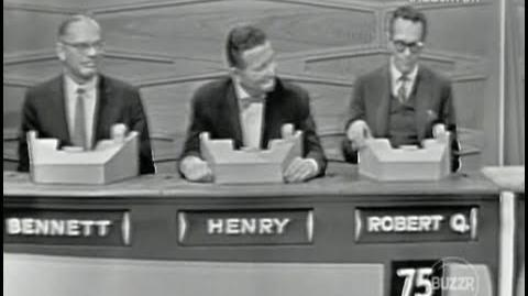 The Match Game - 1964 All-Stars Special