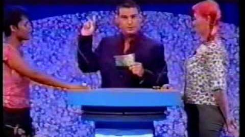 Family Fortunes UK 9 2 2002 - Andy's first episode! - Part 2