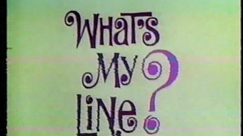 What's My Line? 1968 - Syndication Debut