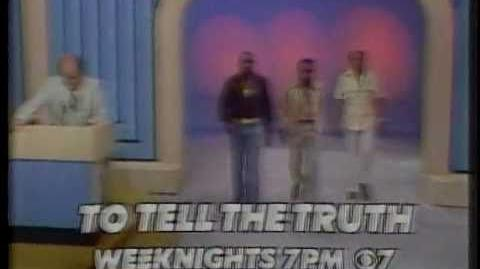 KIRO To Tell The Truth promo 1977