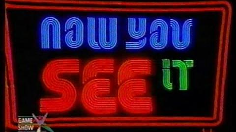 Now You See It 1974 CBS Debut