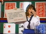 Young Contestant Card Sharks Ticket Plug Mistake