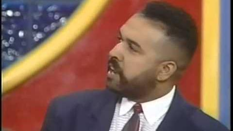 Family Feud '94 1995 Richard Dawson Wassell vs Williams