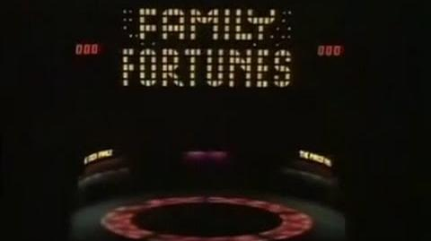 Family Fortunes - S1 Ep01!!! (1980)