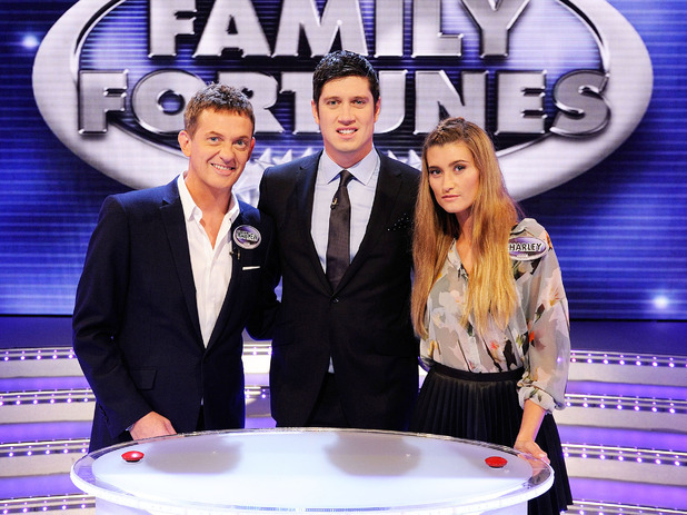 all star family fortunes vernon kay biography