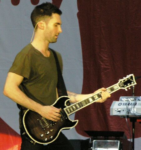 File:Adam Levine with guitar at 2007 MyCokeFest in Atlanta.jpg