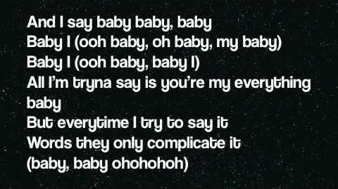 Baby I (Lyrics On Screen)-0