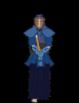 Kendo target areas