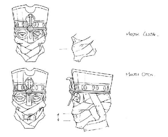 File:Martin Mystery - Pilot Episode - Concept Art (Character Design) by Nicolas Vergnaud - Pharaoh Mummy's Face.jpg