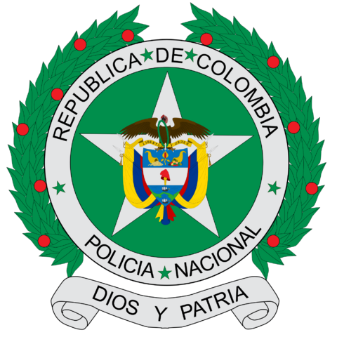 File:Coat of arms of colombian national police.png