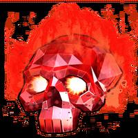 Crystal skull guillotine