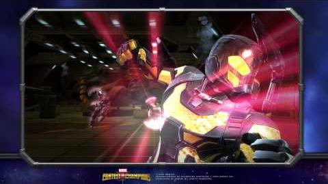 Ant-Man Special Moves Marvel Contest of Champions